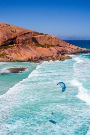 Esperance novembre kitesurf australie