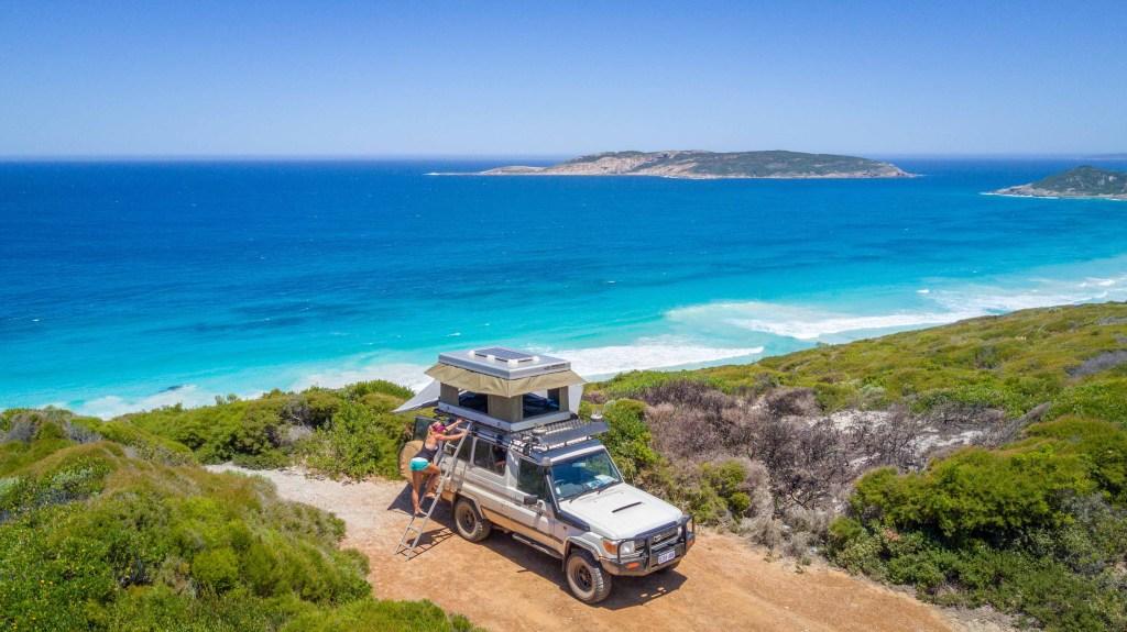 Tente de toit Voiture Western Australia
