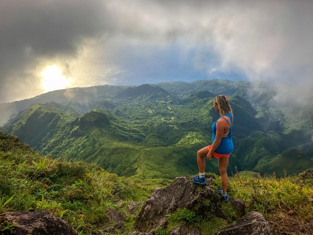 Montagne pelée Martinique Randonnée