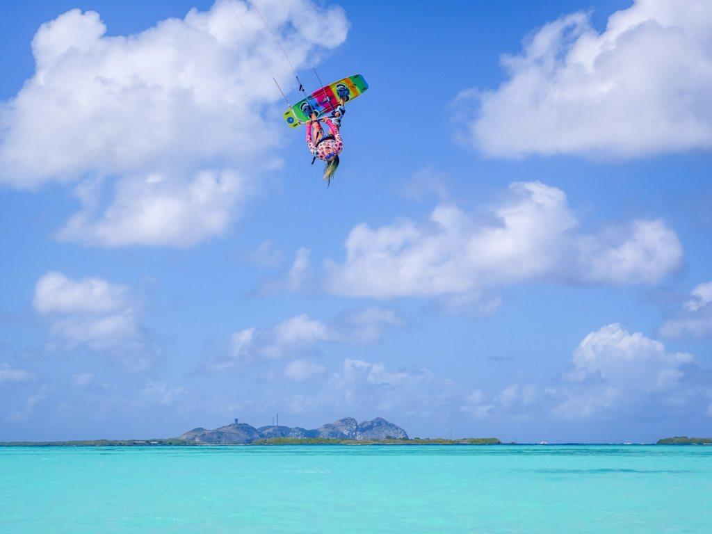 Apprendre le kite Kitesurf débuter stage