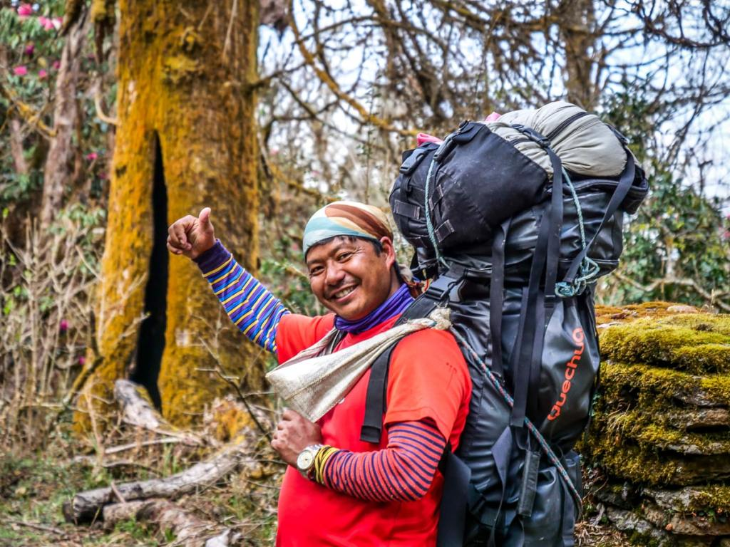 Porteur Nepal Trek