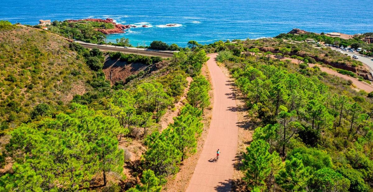 Top 5: Les plus belles boucles à vélo sur la Côte d'Azur