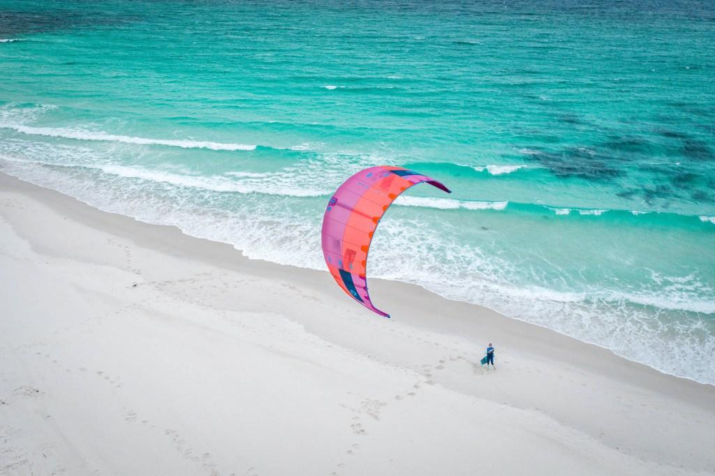 Freycinet Tasmanie kitesurf