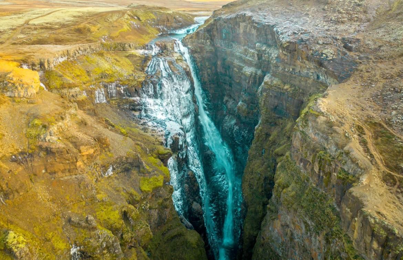 Glymur Islande