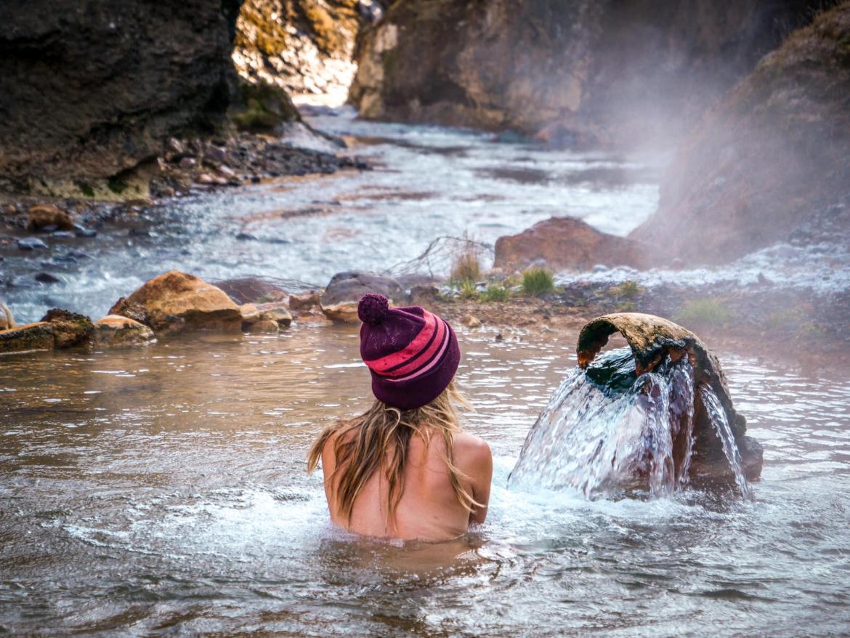 Kerlingarfjoll source eau chaude randonnée Islande0