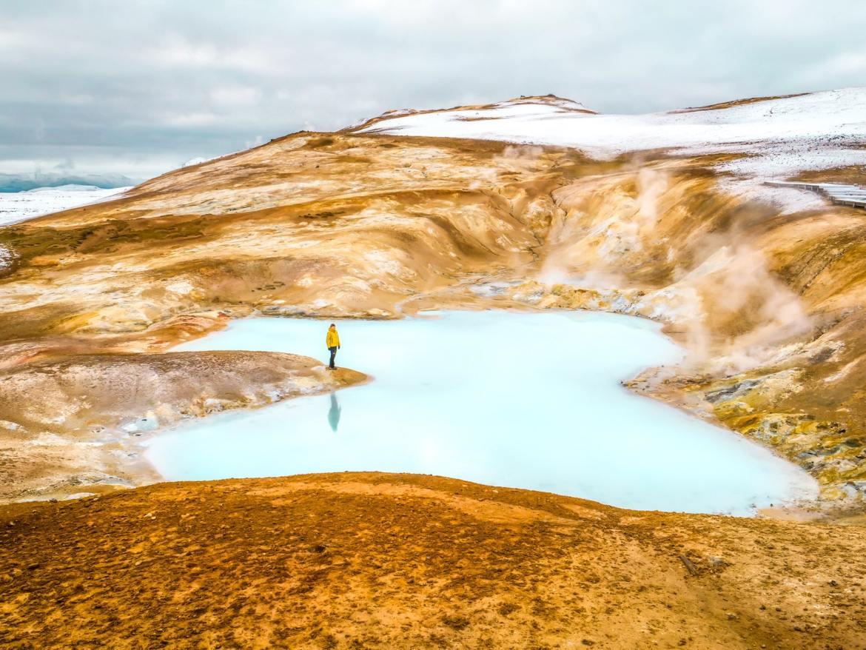 Krafla Islande
