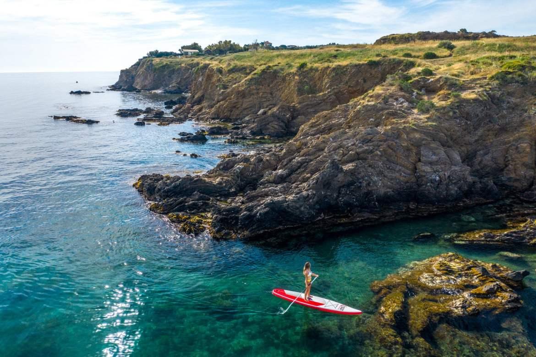 Stand up paddle argelès sur mer