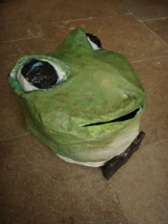 grenouille au noeud pap