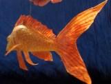 poisson doré papier de soie