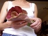 remise en forme fleur en papier de soie