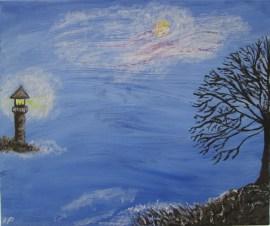 Blue Horizon - Acrylic