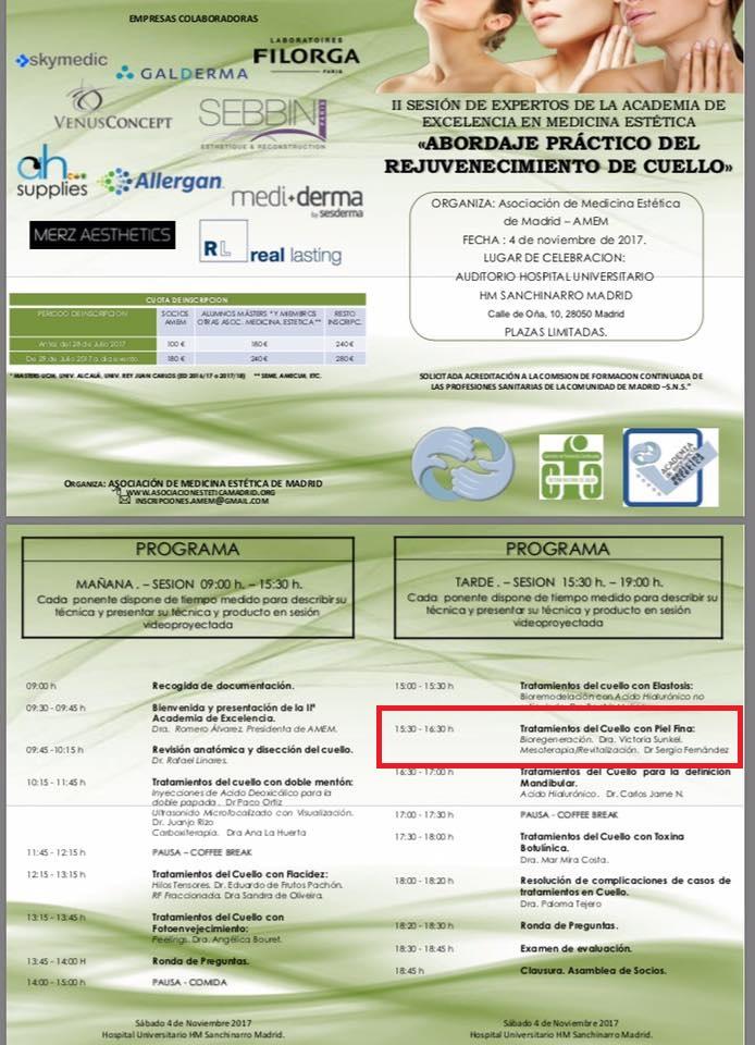 IIª Sesión de Expertos de la Academia de Excelencia en Medicina Estética
