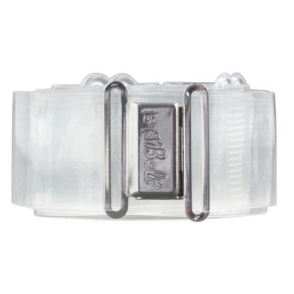 sABelt®-wide-Clear-Magnetic-Clasp-flat-belt-no-bulk-2