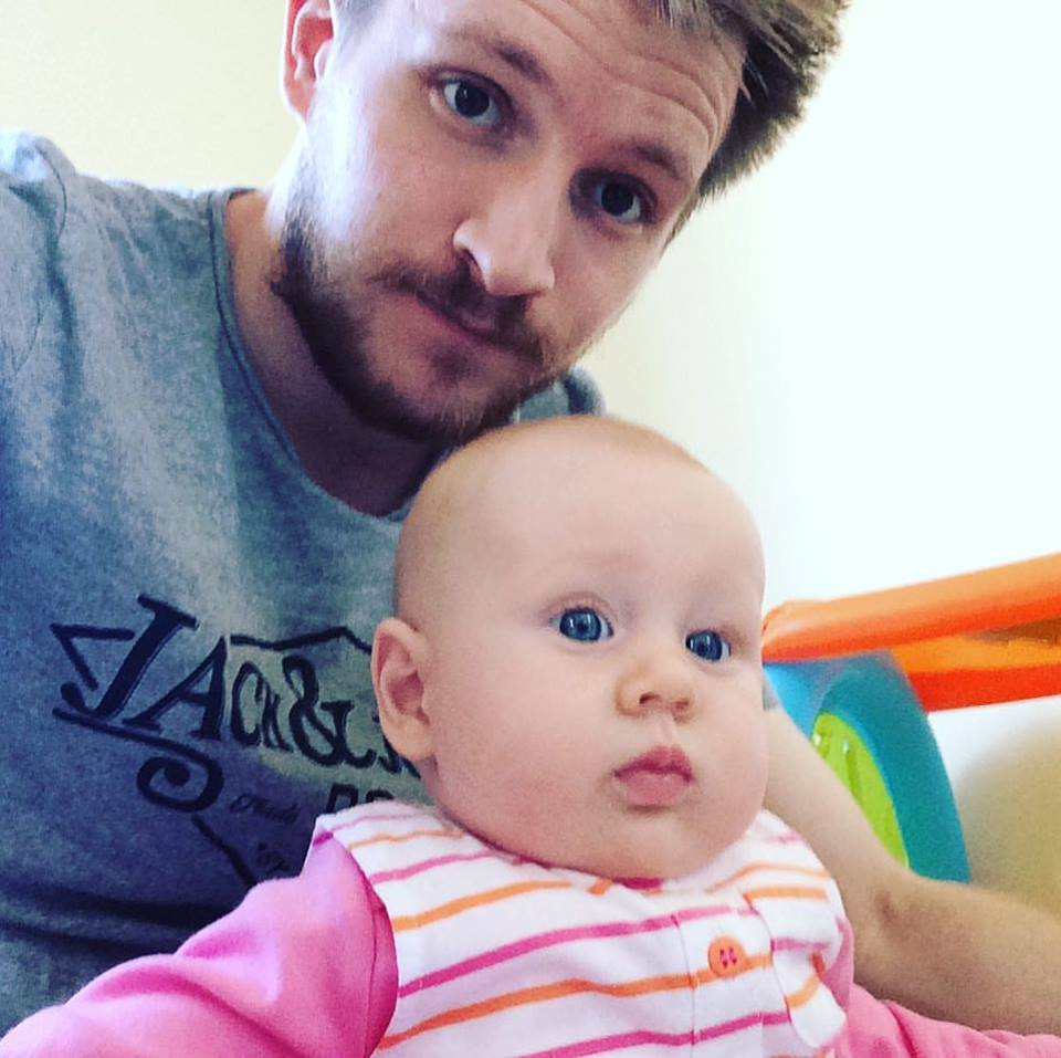 Being Left Alone with the Baby: a Nervous Dad and his Daughter