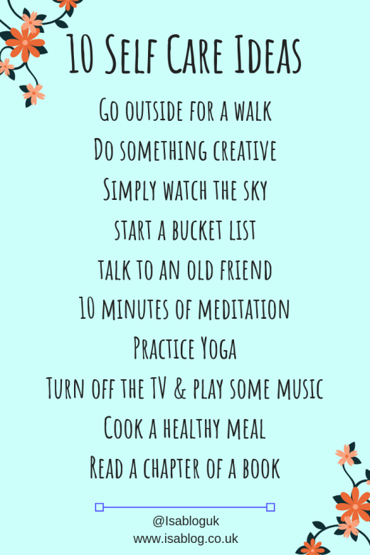10 Self Care Tips to Help Promote Better Self Care