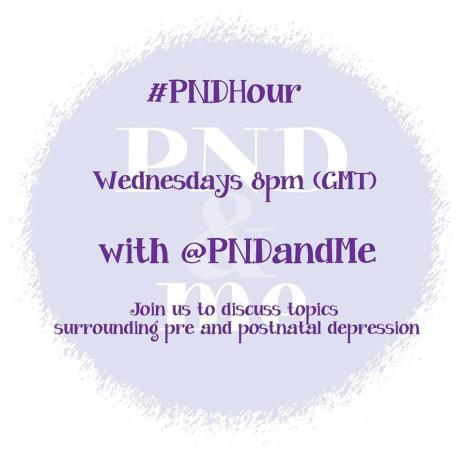 #PNDhour - a form of online support for postnatal depression