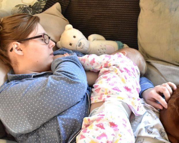 breastfeeding at home