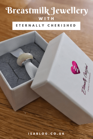 Celebrating 18 Months of Breastfeeding with Breastmilk Jewellery from Eternally Cherished - This is a lovely little breastmilk bead and something that is also rather affordable. At just £30 I really do think Eternally Cherished offer something rather special with this jewellery