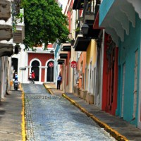 Narrow Paths in Old San Juan