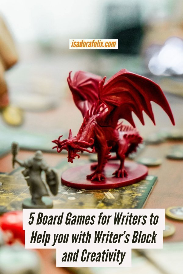 5 Board Games for Writers to Help you with Writer's Block and Creativity