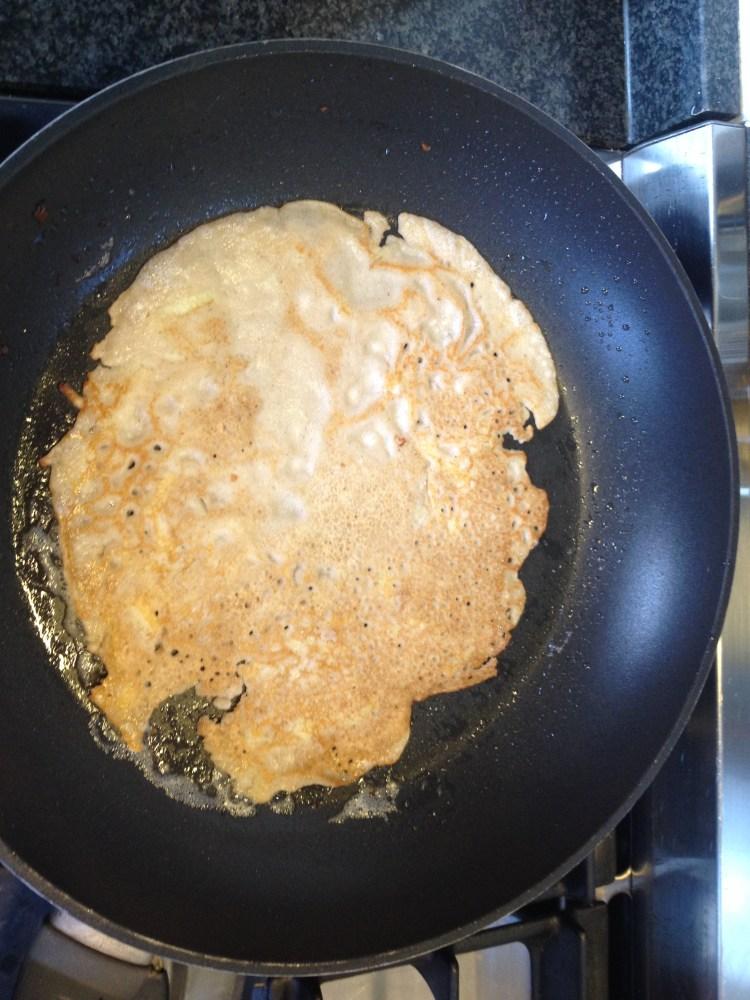 Wat dan in plaats van brood? Pannenkoeken!!! (2/2)