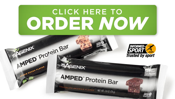 AMPED Protein Bars- ORDER NOW