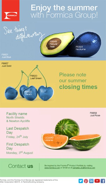 Formica Fruits Mail