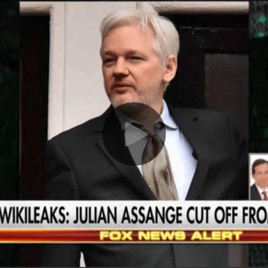 WikiLeaks website forcibly REMOVED from the Internet?