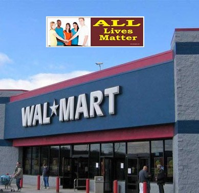 Walmart Bans 'All Lives Matter' Bumper Sticker From Its Online Marketplace For Being Offensive