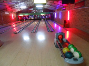 Bowling in Kigali! I originally went with my family but then introduced the club to my friends. Always a fun time even when I am losing...no bumpers here.