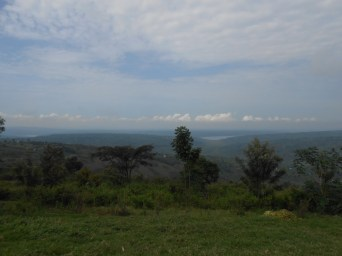 "The view from ""See Far Point."" Have I said Rwanda is beautiful?"