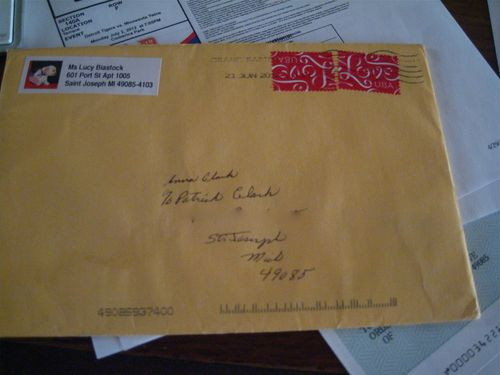 letter of recommendation envelope
