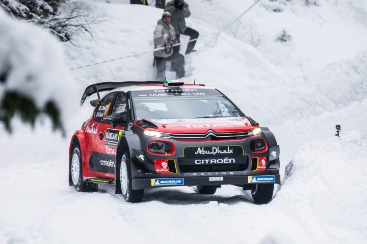 Citroen rally car. Photo: Isak Olsson
