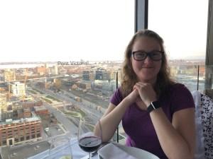 Saturday night dinner at Portus 360 - Jessica Tremblay-Labelle