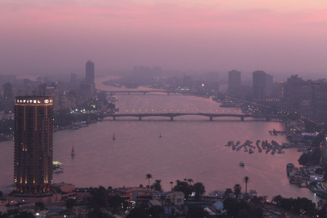 View from Cairo Tower