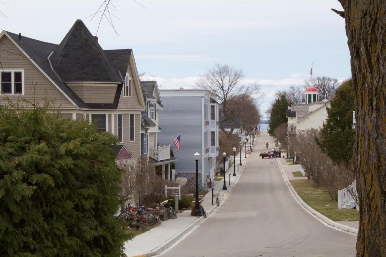 Streets of Mackinac Island
