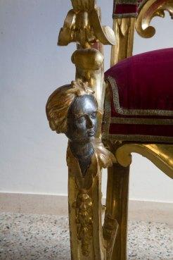 Trono papale - particolare