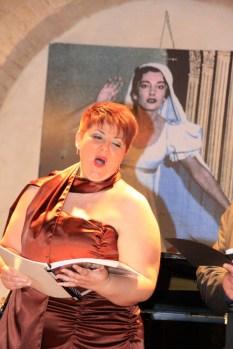 Il soprano Loredana Giacobbi. Foto di Aido Consolani.