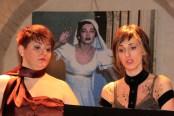 Le soprano Loredana Giacobbi ed Ilva Bassi. Foto di Aido Consolani.