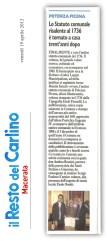 Il resto del Carlino - cronaca locale del 19-4-2013.
