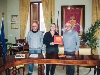 Paolo Onofri, Alessandra Maltoni ed Ezio Manzi