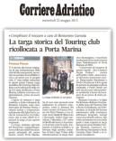 Corriere Adriatico, cronaca locale del 22-5-2013.