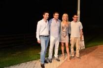 Francesco Acquaroli, Carlo Fidanza, Simona Arrigoni e Alessandro Giungi.
