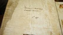 Particolare dell'Antifonario del 1611. Foto Simona Ciasca.