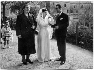 Giuseppe Riccobelli insieme alla moglie Rosetta Ciuccarelli
