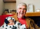 Luigi Parigi con il suo nipotino Nicolas. Foto Famigli Parigi.
