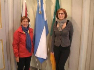 La Sig.ra Rosa Kosmus e l'Assessore ai Lavori Pubblici Luisa Isidori. Foto gentilmente concesse da Oscar Tramannoni