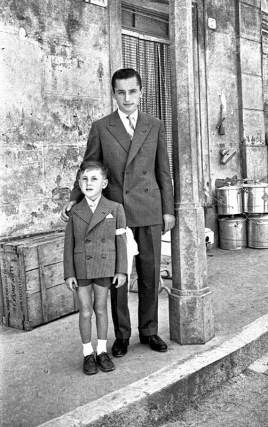 Umberto Mataloni e Silvano Filippetti.