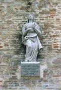 Statua dell'Assunta dopo il restauro. Foto di Luigi Anzalone.