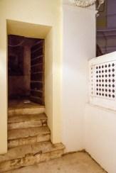 Locali da cui si accede alla cella campanaria dopo il lavoro di pulizia dagli escerementi (vista dal coretto). Foto di Sergio Ceccotti. Foto di Sergio Ceccotti.